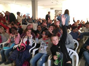 Participantes en la iniciativa 'Agua a con-ciencia' de Andalucía Mejor con Ciencia.