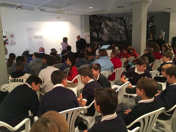 Participantes en 'Agua a con-ciencia' dentro de Andalucía Mejor con Ciencia.