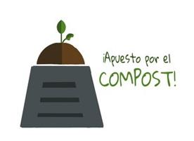 Logo apuesto por el compost