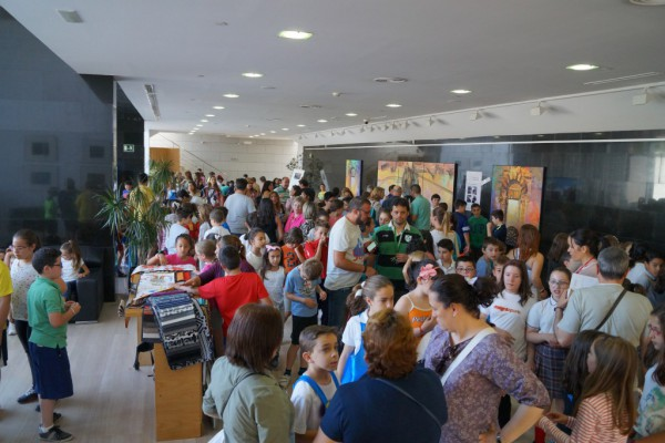 Talleres tras la presentación del producto final del proyecto en el Centro Cultural Medina Elvira (Atarfe)
