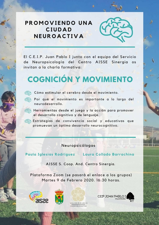 Cartel Cognición y Movimiento