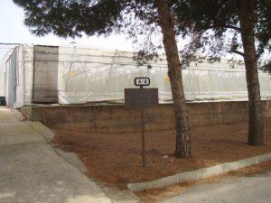 Invernaderos donde se establecerán setos y hoteles para insectos