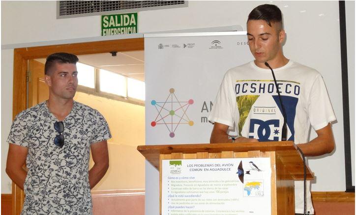 Intervención de los alumnos de la EFA Campomar
