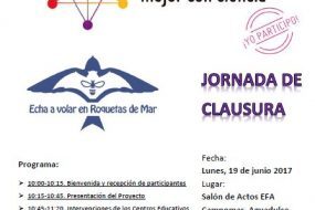 Jornada de clausura de 'Echa a volar en Roquetas de Mar'