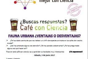 Café con ciencia: Fauna urbana ¿Ventajas o desventajas?