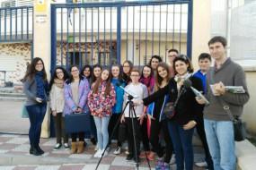 Mediciones de ruido con alumnos de 4º de E.S.O del I.E.S La Laguna