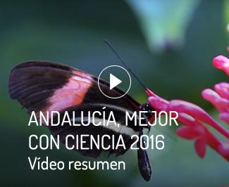 Andalucía, mejor con ciencia 2016. Vídeo resumen