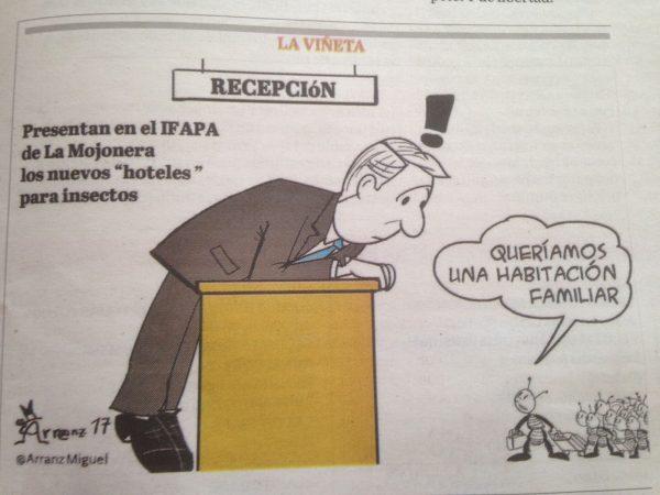 Viñeta publicada en La Voz de Almería.