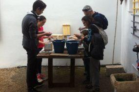 Comienzan los talleres de construcción de refugios