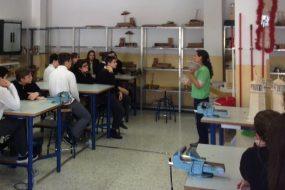 Alumnos del IES El Parador y Colegio Portocarrero construyen refugios para fauna