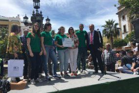 3º Premio de XIII Jornada de Ciencia en la Calle de Algeciras